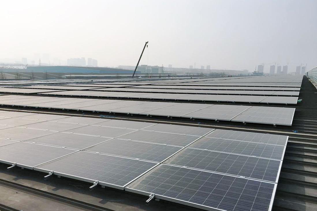 山東金晶5.6MW分布式發電項目
