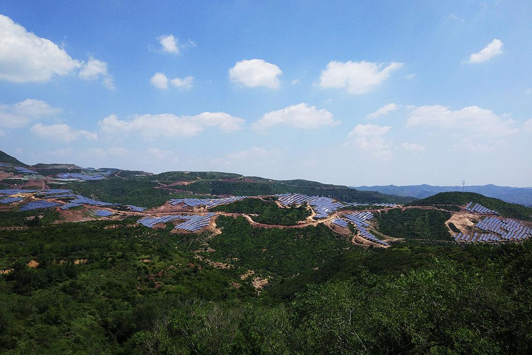 山西陽泉50MW光伏發電項目 領跑者項目